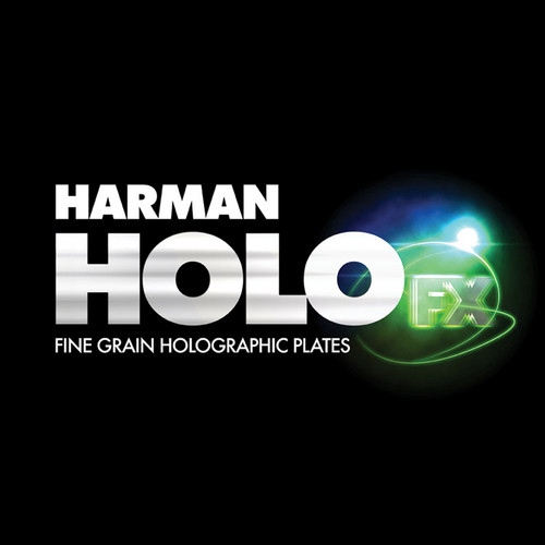 "Ilford Harman Green Sensitive Holographic Plates (4 x 5"")"
