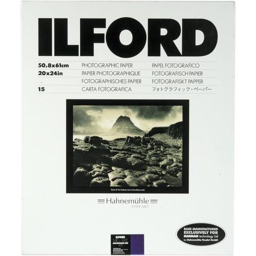 "Ilford Multigrade Art 300 Paper (20 x 24"", 15 Sheets)"