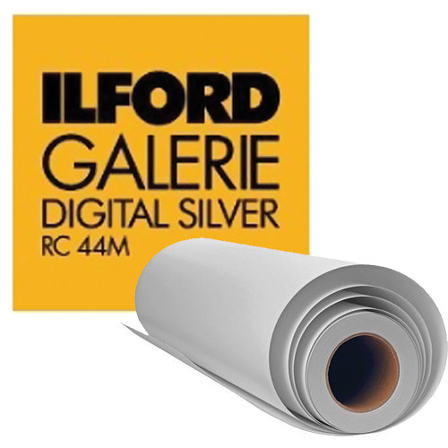 "Ilford Galerie Digital Silver Black and White Photo Paper (30"" x 98', Pearl)"