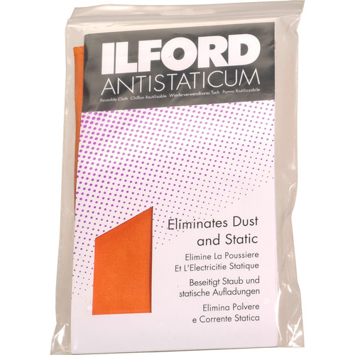 "Ilford Antistaticum Anti-Static Cloth - 13 x 13"""