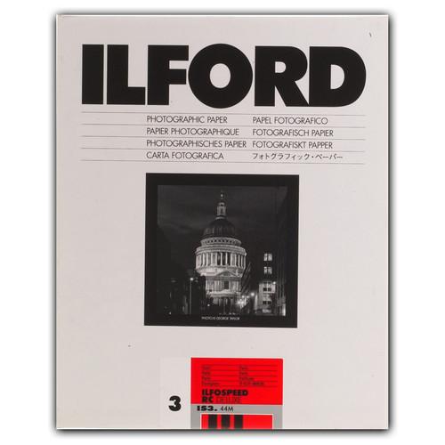 "Ilford ILFOSPEED RC DeLuxe Paper (44M Pearl, Grade 3, 8 x 10"", 100 Sheets)"