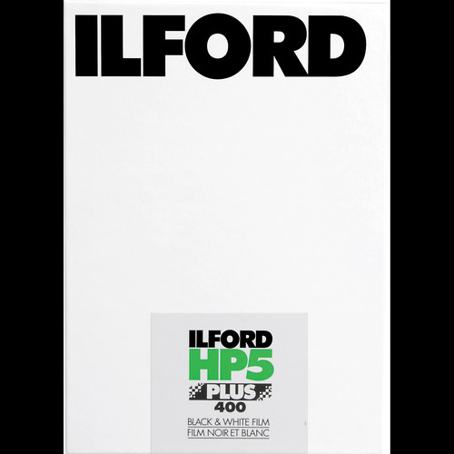 "Ilford HP5 Plus 8x10"" 25 Sheets Black & White Print Film (ISO-400)"