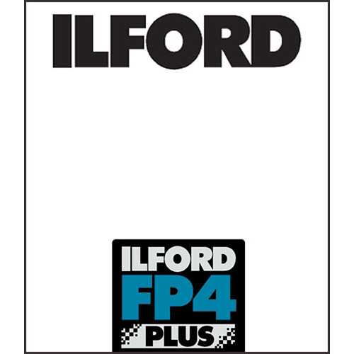"Ilford FP4 Plus Black and White Negative Film (11 x 14"", 25 Sheets)"