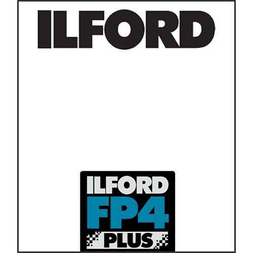"Ilford FP4 Plus Black and White Negative Film (11 x 14"", 25 Sheets)"