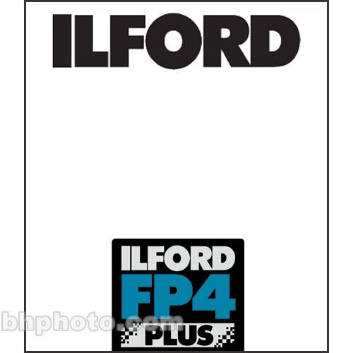 "Ilford FP4 Plus Black and White Negative Film (7 x 17"", 25 Sheets)"