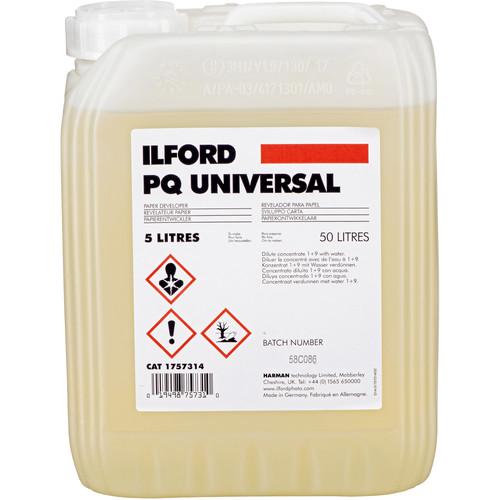 Ilford PQ Universal Paper Developer, 5 Liter