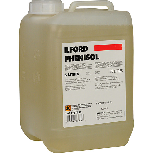 Ilford Phenisol X-Ray Developer - To Make 5 Liters