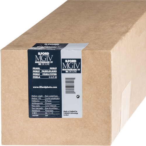 "Ilford Multigrade IV RC DeLuxe Paper (Pearl, 50"" x 98' Roll)"