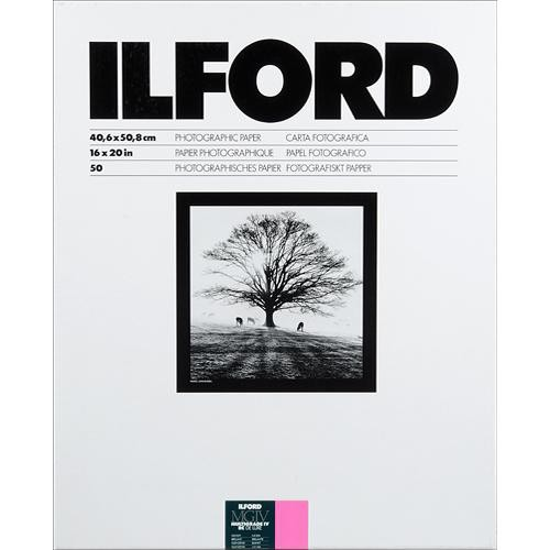 "Ilford Multigrade IV RC DeLuxe Paper (Glossy, 16 x 20"", 50 Sheets)"