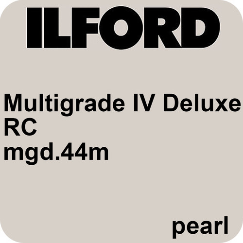 "Ilford Multigrade IV RC Deluxe MGD.44M Black & White Variable Contrast Paper (4 x 6"", Pearl, 500 Sheets)"