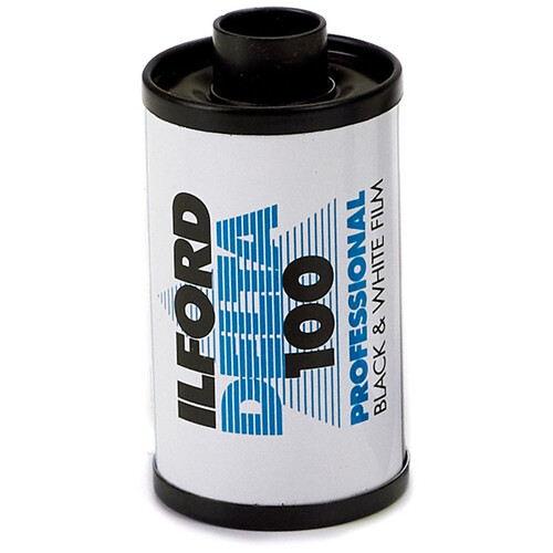 Ilford Delta 100 Professional Black and White Negative Film (35mm Roll Film, 24 Exposures)