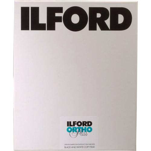 "Ilford Ortho Plus Black and White Negative Film (8 x 10"", 25 Sheets)"