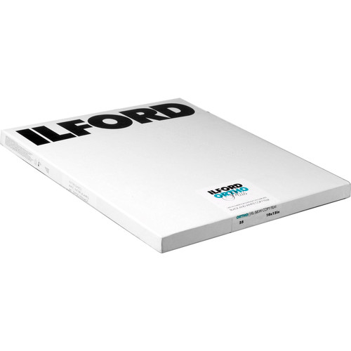 "Ilford Ortho Plus 10x12"" Black & White Negative Film - 25 Sheets"