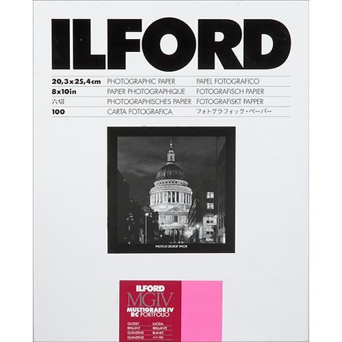 "Ilford Multigrade IV RC Portfolio Paper (Glossy, 8 x 10"", 100 Sheets)"
