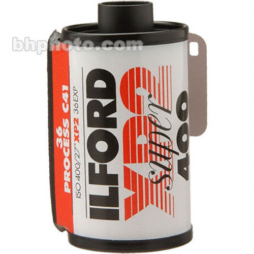 Ilford 35mm XP-2 Super Black and White Print Film (36 Exposure, EXPIRES 2/13)