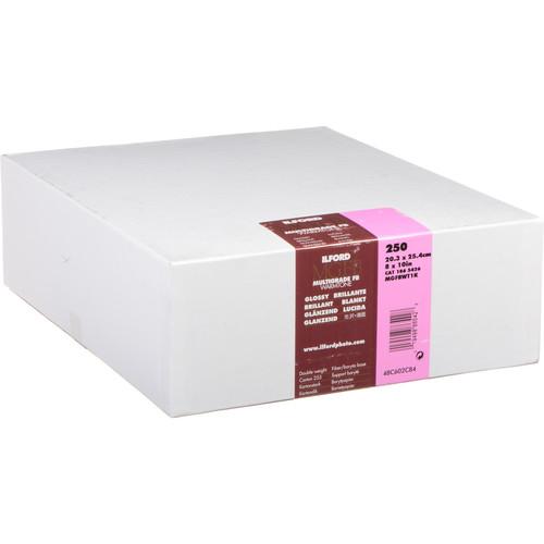 """Ilford Multigrade FB Warmtone Paper (Glossy, 8 x 10"""" , 250 Sheets)"""