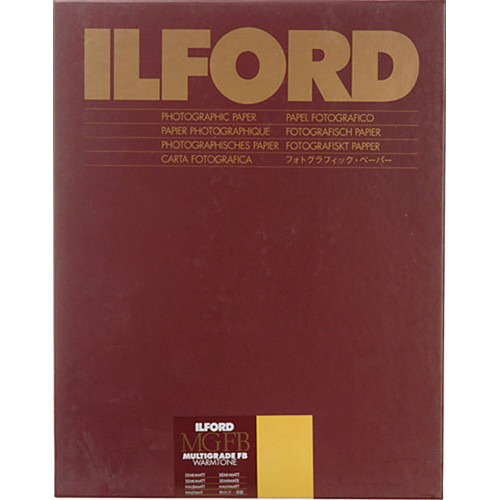 "Ilford Multigrade FB Warmtone Paper (Semi-Matt, 5 x 7"" , 100 Sheets)"
