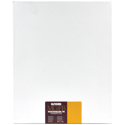 "Ilford Multigrade FB Warmtone Paper (Semi-Matt, 8 x 10"" , 250 Sheets)"