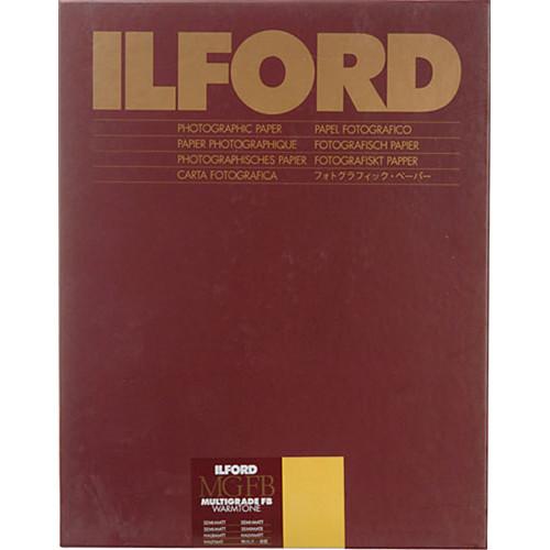 "Ilford Multigrade FB Warmtone Paper (Semi-Matt, 16 x 20"" , 50 Sheets)"