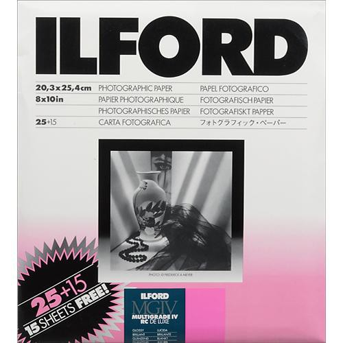 Ilford Multigrade IV RC DLX 8x10/25 + 15 Glossy