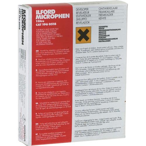 Ilford Microphen Developer (Powder) for Black & White Film - Makes 1 Liter