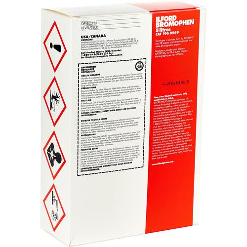 Ilford Bromophen Developer (Powder, Makes 5 Liters)