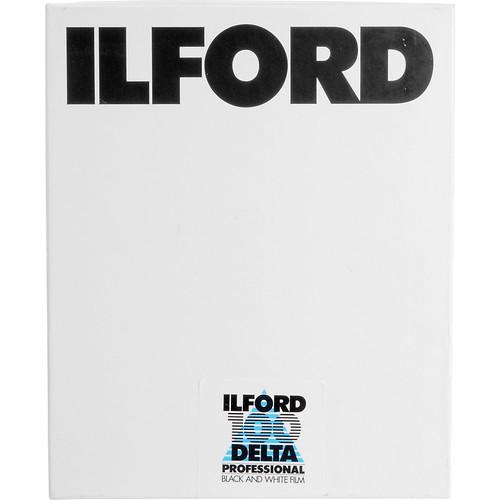 """Ilford Delta 100 Professional Black and White Negative Film (5 x 7"""", 100 Sheets)"""