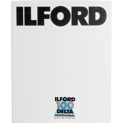 "Ilford Delta-100 Professional 5x7"" 100 Sheets B&W Print Film (ISO-100)"