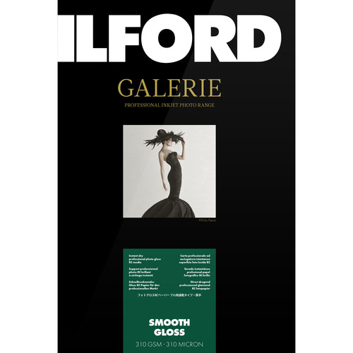 "Ilford GALERIE Prestige Smooth Gloss Paper (5.0x7.0"" - 100 Sheets)"