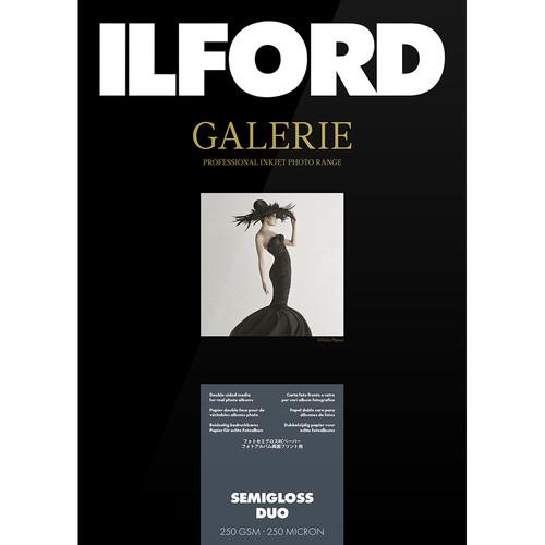 """Ilford GALERIE Prestige Semigloss Duo (8.5 x 11"""", 25 Sheets)"""