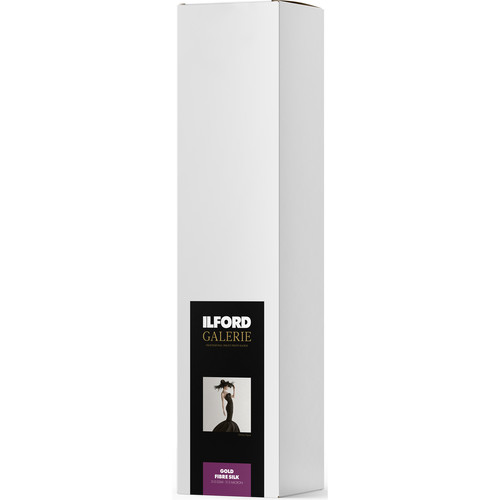 """Ilford Gold Fibre Silk (50"""" x 39' Roll)"""