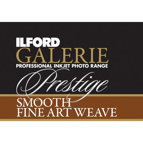 "Ilford Galerie Prestige Smooth Fine Art Weave Roll Paper (24.0"" x 50.0')"