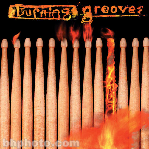 ILIO Sample CD: Burning Grooves (Roland) with Audio CD