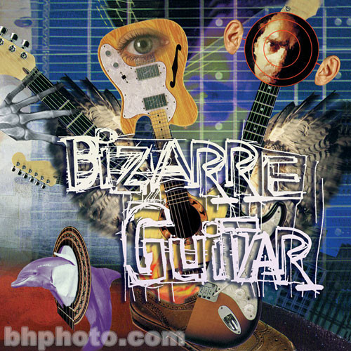 ILIO Bizarre Guitar (Akai) with Groove Control and Audio CD