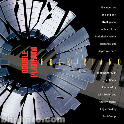 ILIO Sample CD: Double Platinum Rock Piano (Akai)