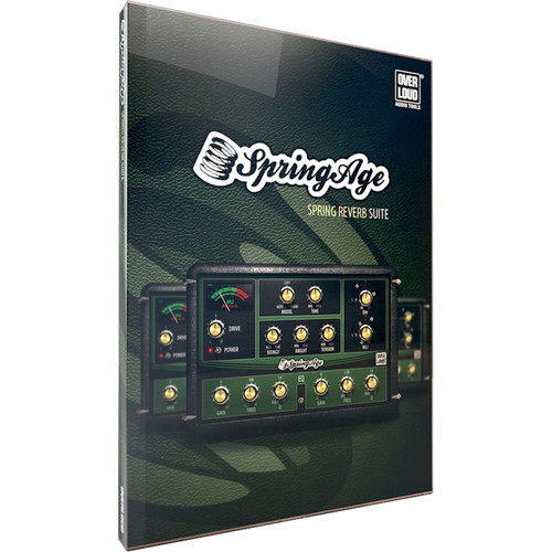 ILIO SpringAge - Spring Reverb Plug-In