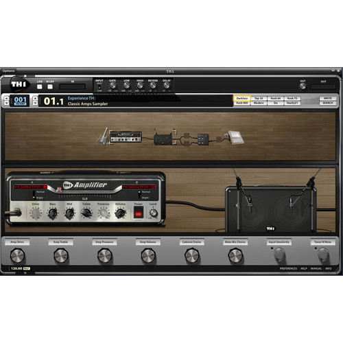 ILIO TH1-Triode - Custom Guitar Effects Suite