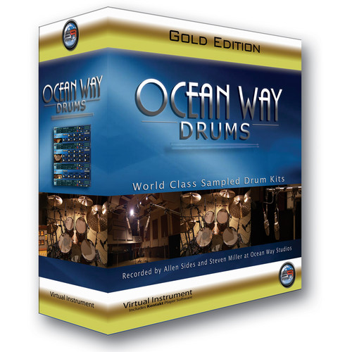 ILIO Ocean Way Drums Gold Edition