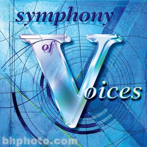 ILIO Sample CD: Symphony of Voices (Roland) - Four Disc Set
