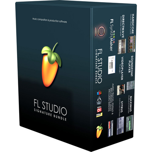 Image-Line FL Studio 10 Signature Bundle - Complete Music Production Software (Single User Educational Discount)