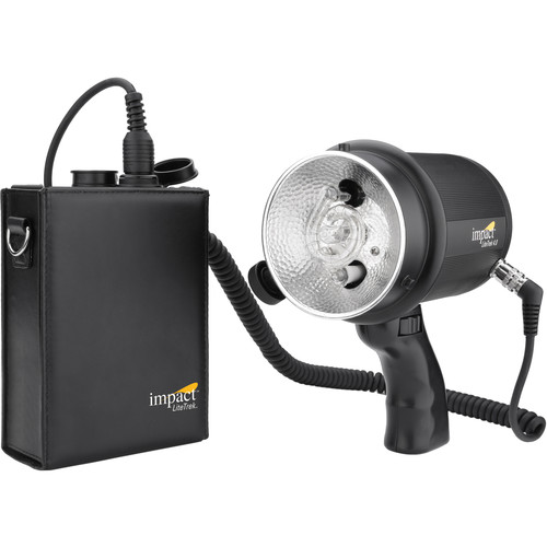 Impact LiteTrek 4.0 DC Monolight and Mini LiteTrek (LT) Battery Pack Kit