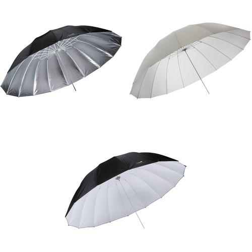 Impact 7' Parabolic 3 Umbrella Kit