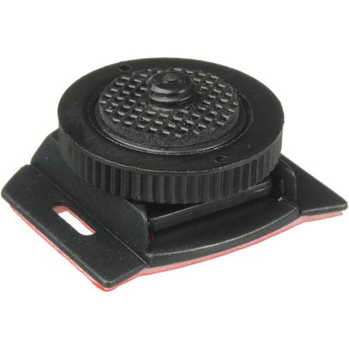 Impact Locking Adhesive-Backed Accessory Shoe