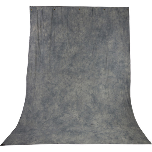 Impact Crushed Muslin Background (10 x 12', Gray Mist)