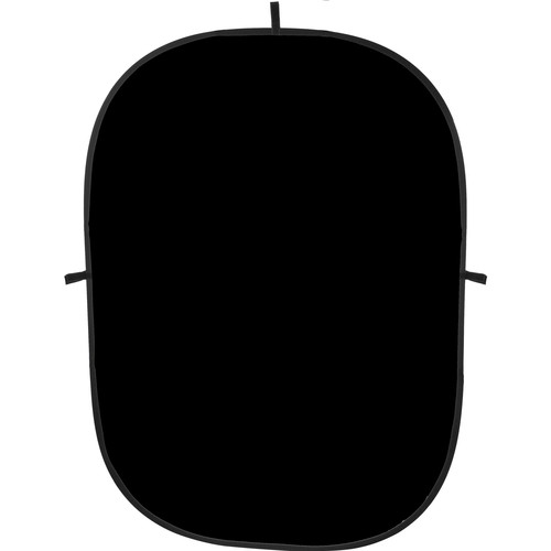 Impact Collapsible Background - 5 x 7' (Black)