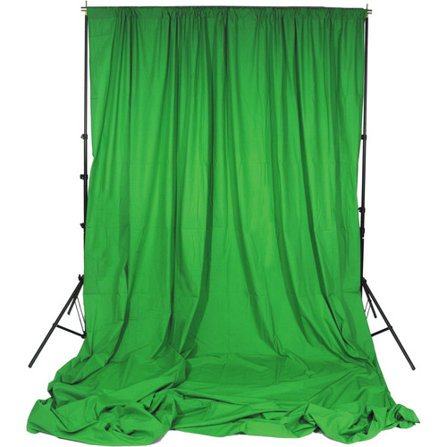 Impact 10 x 24' Background Support Kit (Chroma Green)
