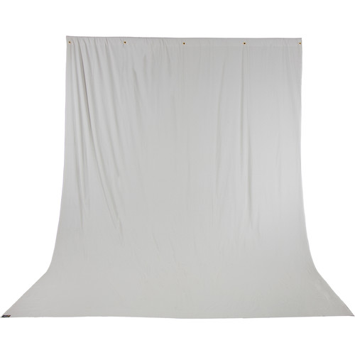 Impact Solid Muslin Background (10 x 12', Light Gray)