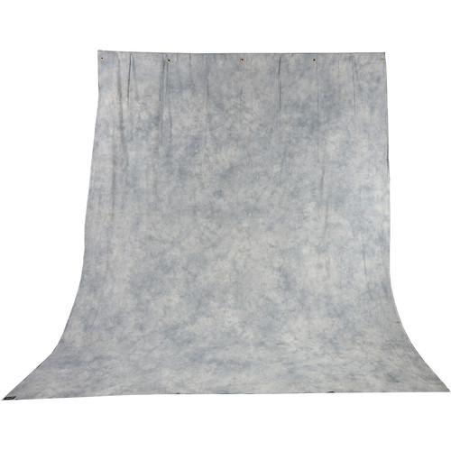 Impact Tie-Dye Muslin Background (10 x 12', Slate Gray)