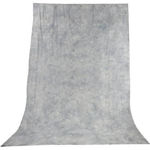 Impact Tie-Dye Muslin Background (10 x 24', Slate Gray)