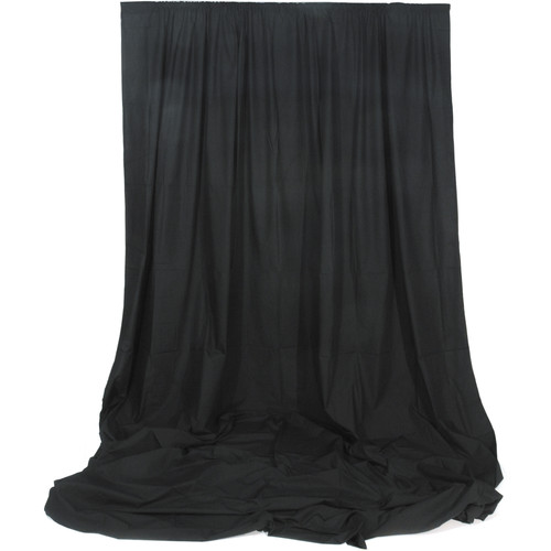 Impact Muslin Background - 10 x 24' (Black)